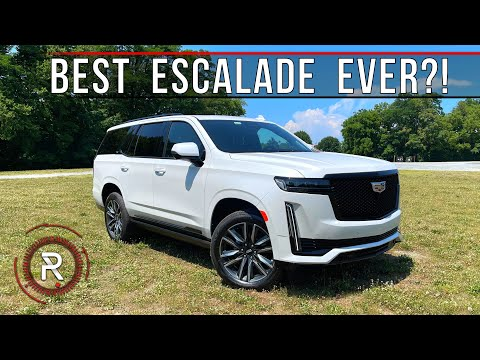 The 2021 Cadillac Escalade Sport Platinum is a Large World-Class Luxury SUV