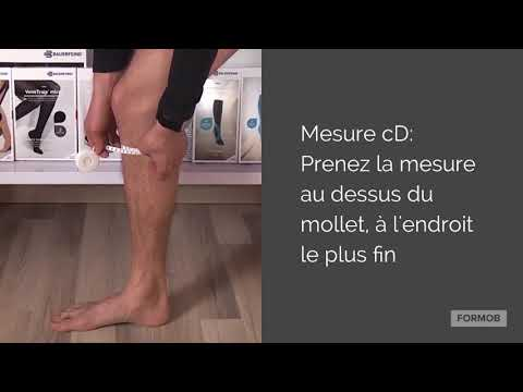 Les collants de compression de 1 classe de la compression le prix à la varicosité