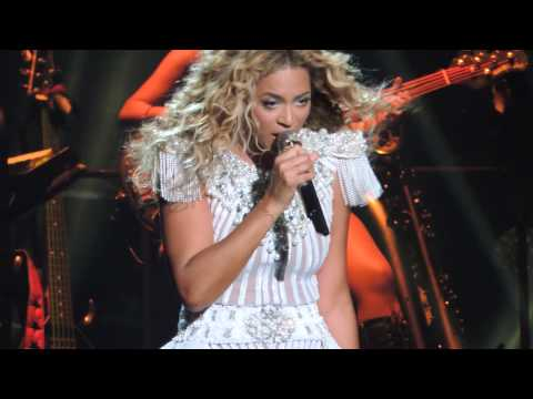"""Beyonce """"Flaws & All"""" Mrs. Carter Tour- dedicated to Houston- Houston concert 7/15/2013"""