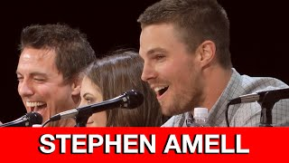 Stephen Amell's Epic Live Arrow Intro At Comic Con