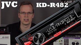 JVC KD-R482 Autoradio Vorstellung + Betrieb - CD,MP3,USB,Android Auto Radio - just-SOUND CarHifi