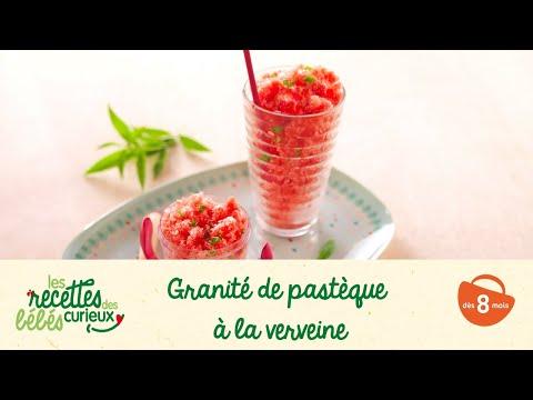 Musique publicité Blédina Recette bébé : Granité de pastèque à la verveine    Juillet 2021