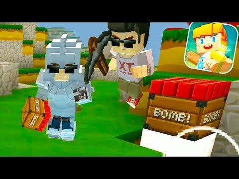 Blockman Go: Bed Wars, Im Pro, My Team Noobs in The Minecraft Mode (Bed Wars Mode)