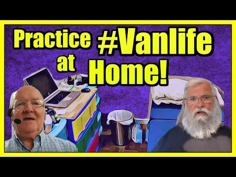 "Get Ready For Van Life! How You Can Set Up a  ""Van"" in Your Bedroom!!"