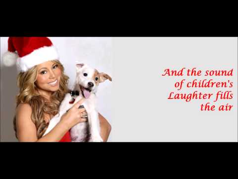 Mariah Carey - ALL I WANT FOR CHRISTMAS IS YOU + lyrics