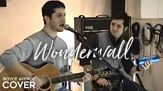 Oasis - Wonderwall (Boyce Avenue acoustic cover) on Apple & Spotify