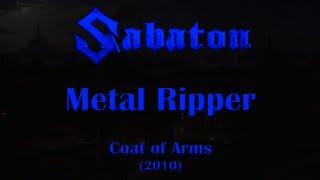 Sabaton - Metal Ripper (Original Lyrics)