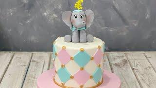 Elephant Circus Cake