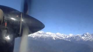ヒマラヤ遊覧飛行-HimalayanFlightinPakhara