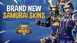 *NEW* Samurai Skins!! - Fortnite Battle Royale Gameplay - Ninja & Dr Lupo
