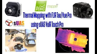 Thermal Mapping is so easy with VuIR Touch Pro Geo-tagging