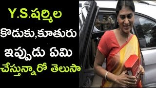 Politicians Y S Sharmila Sharmila Personal Life Details| Y.S.Jagan,|Y.S.Sharmila|ycp Lateste News
