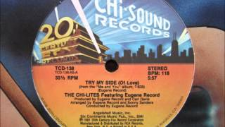The Chi-Lites - Try My Side (Of Love).wmv