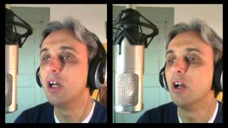 How To Sing a cover of There's a Place Beatles Vocal Harmony