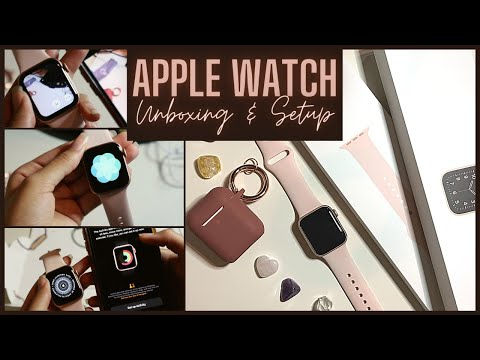 Apple Watch SE Unboxing & Setup 2021 | Rose Gold 40 MM GPS Apple Watch SE | Shyan Renée