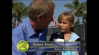 Sofia Kenin @ age 7