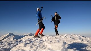 Altitude happiness - Fagaras Mts. December 2015