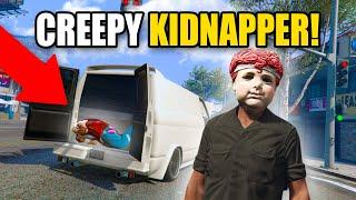 CREEPY GUY KIDNAPS PEOPLE IN GTA ONLINE! | GTA 5 THUG LIFE #354