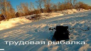 Ловля окуня зимой на тоболе