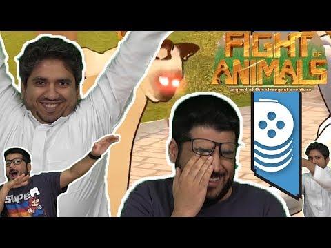 ألعاب نلعبها: بطل الحيوانات!! Fight Of Animals