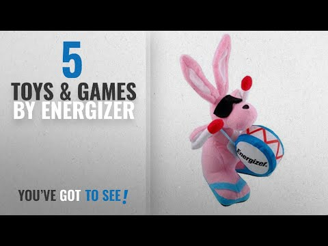 """Top 10 Energizer Toys & Games [2018]: Energizer Bean Bag Bunny """"Not battery operated"""""""