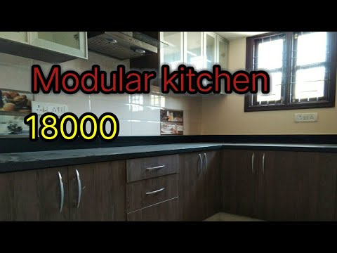 Low cost modular kitchen design in india