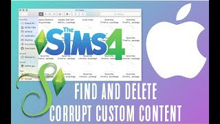 HOW TO: Locate and Delete Corrupt Custom Content on a MAC | Simology