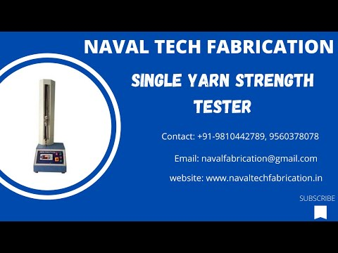 Single Yarn Strength Tester