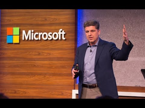 Video: Microsoft Business Forward 2018 keynote - intro 365 Business Central