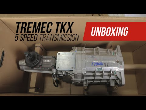 Watch as We Unbox Tremec's Brand-New TKX Transmission
