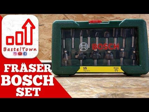 Bosch Fräser Set: Das Richtige für Anfänger?