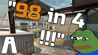 CS:GO - Matchmaking Schreilights • 98 In 4!