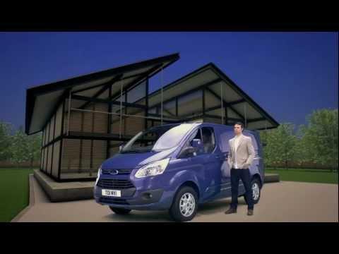 Ford  Transit Custom VAN Фургон класса M - рекламное видео 1