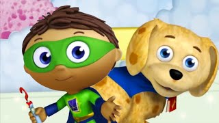 Super Why 202 - Super WHY and Webby in Bathland | Cartoons for Kids
