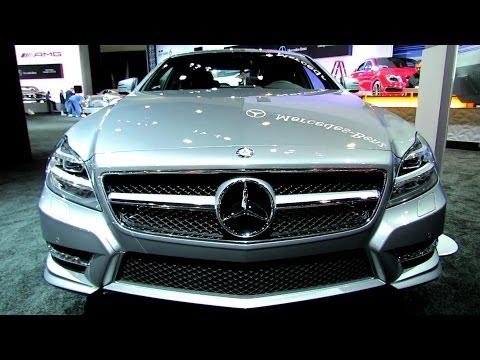 2014 Mercedes-Benz CLS-Class CLS550 - Exterior and Interior Walkaround - 2013 LA Auto Show