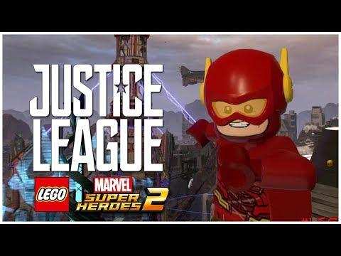 THE FLASH (JUSTICE LEAGUE) /// LEGO Marvel Superheroes 2 MOD mp3