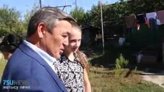 Аким Талдыкоргана принял участие в акции «Дорога в школу»