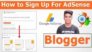 How to Link Blogger to Google AdSense Step by Step In Hindi - 2019