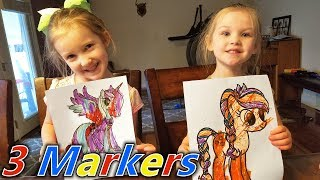 My Little Pony Shopkins Coloring