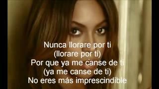 Beyoncé   Irremplazable (Letra)