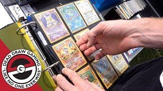 Hunting For Pokemon Cards!! **Flea Market Finds**