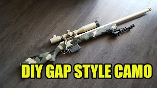 DIY GAP Style Camo Tutorial (Mosin Nagant)