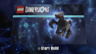LEGO Dimensions - Bionic Steed Building Instructions - Excalibur Batman Fun Pack 71344 (Year 2)