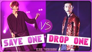 DROP ONE, SAVE ONE | K POP GAME (EXO VERSION)