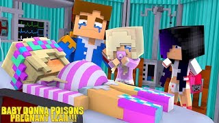 Minecraft BABY DONNA POISONS PREGNANT LITTLE LEAH!!! w/ LITTLE DONNY - Video Youtube