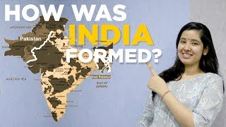 How was India Formed | Princely States and Jammu and Kashmir