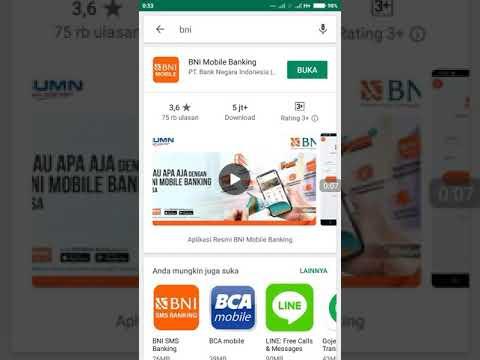 CARA AKTIVASI BANK BNI MOBILE BANKING GAGAL | MASUKAN BUAT PIHAK PENGEMBANG