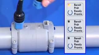 Процесс сварки фитингов для электрофузионной сварки полибутеновых труб Флексален