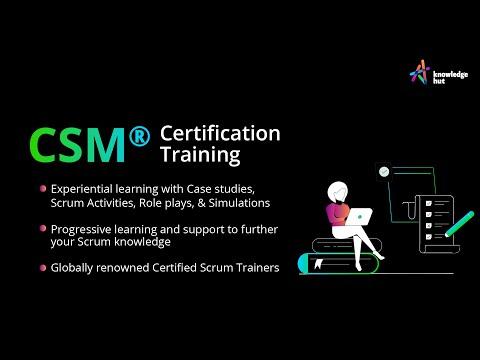 CSM® Certification | Certified ScrumMaster® Online ... - YouTube