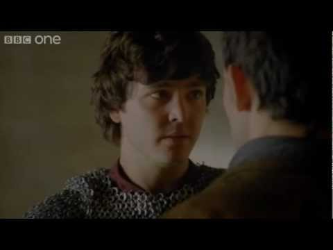 Merlin and Mordred - Merlin - Series 5 Episode 11 - BBC One